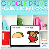 Digital Guided Reading Books Level B 2 Seesaw Google Classroom DISTANCE LEARNING