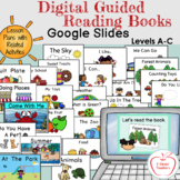 Digital Guided Reading Books Levels A - C (24 Books on Goo