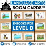 Digital Guided Reading Books with Audio | Level D