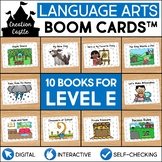 Digital Guided Reading Books with Audio | Level E