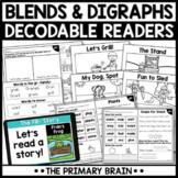 Digital Guided Reading Boom Cards™ & Google Slides   Blends and Digraphs Bundle