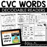 Digital Guided Reading CVC Words Bundle | Boom Cards™ | Google Slides | Seesaw