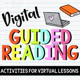 Digital Guided Reading: Interactive Activities for Word Wo