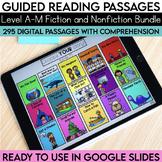 Digital Guided Reading Passages Bundle: Level A-M Fiction
