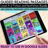 Digital Guided Reading Passages Bundle: Level A-Z Fiction