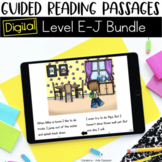Digital Guided Reading Passages Bundle: Level E-J {For the Paperless Classroom}