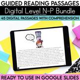 Digital Guided Reading Passages Bundle: Level N-P Distance