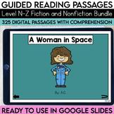 Digital Guided Reading Passages Bundle: Level N-Z Fiction