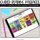 Digital Guided Reading Passages Bundle: Level Pre-A Fictio