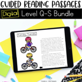 Digital Guided Reading Passages Bundle: Level Q-S {For the Paperless Classroom}