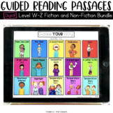 Digital Guided Reading Passages Bundle: Level W-Z Fiction