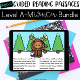 Digital Guided Reading Passages GROWING Bundle: Level A-M
