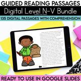 Digital Guided Reading Passages Bundle: Level N-V {Paperle