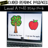 Digital Guided Reading Passages: Level A Fall Mini Pack Di