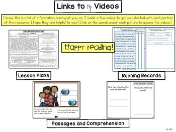 Digital Guided Reading Passages: Level E {For the Paperless Classroom}