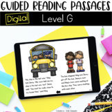 Digital Guided Reading Passages: Level G Distance Learning