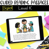 Digital Guided Reading Passages: Level K Distance Learning