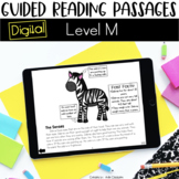 Digital Guided Reading Passages: Level M Distance Learning