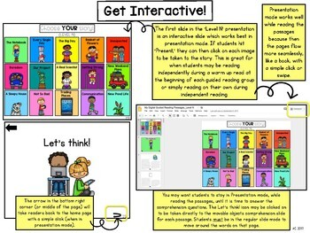 Digital Guided Reading Passages: Level N {For the Paperless Classroom}