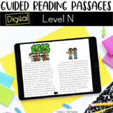 Digital Guided Reading Passages: Level N {For the Paperles