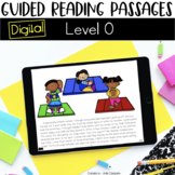 Digital Guided Reading Passages: Level O Distance Learning