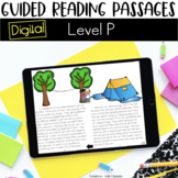 Digital Guided Reading Passages: Level P Distance Learning