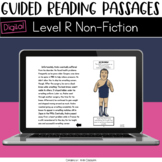 Digital Guided Reading Passages: Level R (Non Fiction) Distance Learning