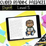 Digital Guided Reading Passages: Level S {For the Paperless Classroom}