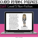 Digital Guided Reading Passages: Level S (Non Fiction) Dis