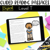 Digital Guided Reading Passages: Level T Distance Learning