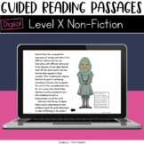 Digital Guided Reading Passages: Level X (Non Fiction) Dis