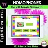 Digital HOMOPHONES - Google Slides™ for Distance Learning