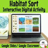 Digital Habitat Sort For Google Slides and Google Classroom