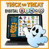 DIGITAL Halloween Themed Vocabulary Bingo Game