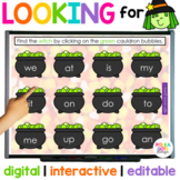 Digital Halloween Letters and Sight Word Game | Looking Fo