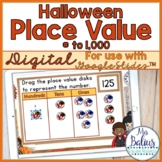 Digital Halloween Place Value Google Slides™  FREEBIE Numb