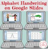Digital Handwriting A-Z - Interactive - Google Slides