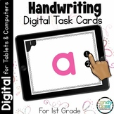 Digital Handwriting Practice Activities for PowerPoint and