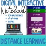 Digital Health Science Interactive Notebook Template