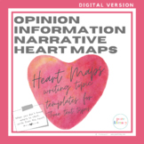 Digital Heart Maps for Opinion, Information, and Narrative