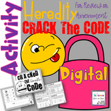 Digital Heredity and Punnett Squares Crack the Code and Escape Challenge