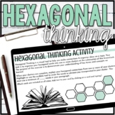 Digital Hexagonal Thinking Activity for ANY SUBJECT or TOP