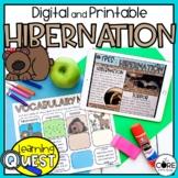 Digital Hibernation Science Activities for November   Dist