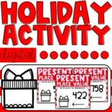 Digital Holiday Activity | Christmas Place Value Activity