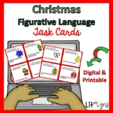 HOLIDAY FIGURATIVE LANGUAGE DIGITAL TASK CARDS
