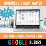 Digital Hundreds Chart Games   Number Sense, Place Value, Skip Counting