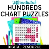 Digital Hundreds Chart Puzzles | Distance Learning | Googl