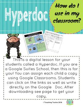 Digital Hyperdoc- Rosa Parks Using Multiple Sources