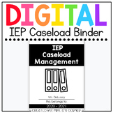 Digital IEP Caseload Binder | Digital Special Education Te