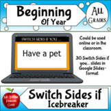 Digital Ice breaker Game for Distance Learning or in Class